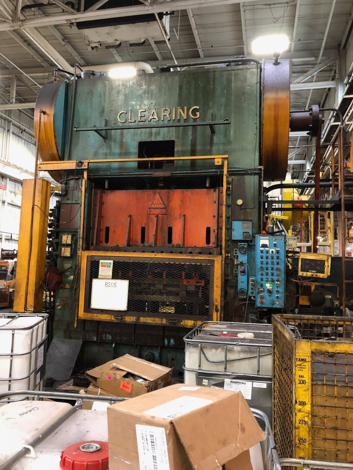 ​1 – USED 600 TON CLEARING SSDC PRESS C-5423
