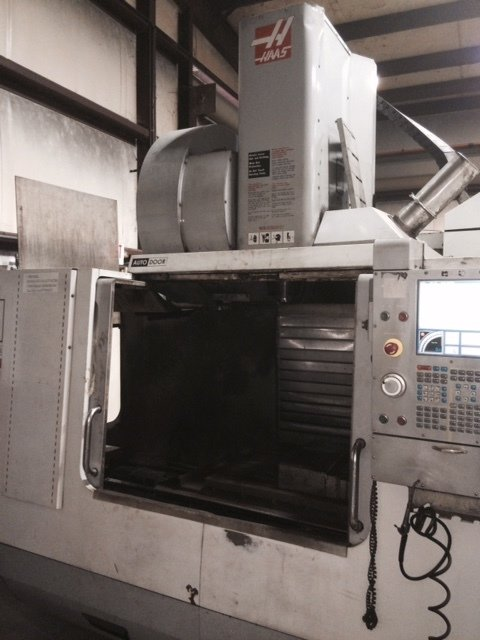1 – USED HAAS VF3 VERTICAL MACHINING CENTER C-5344