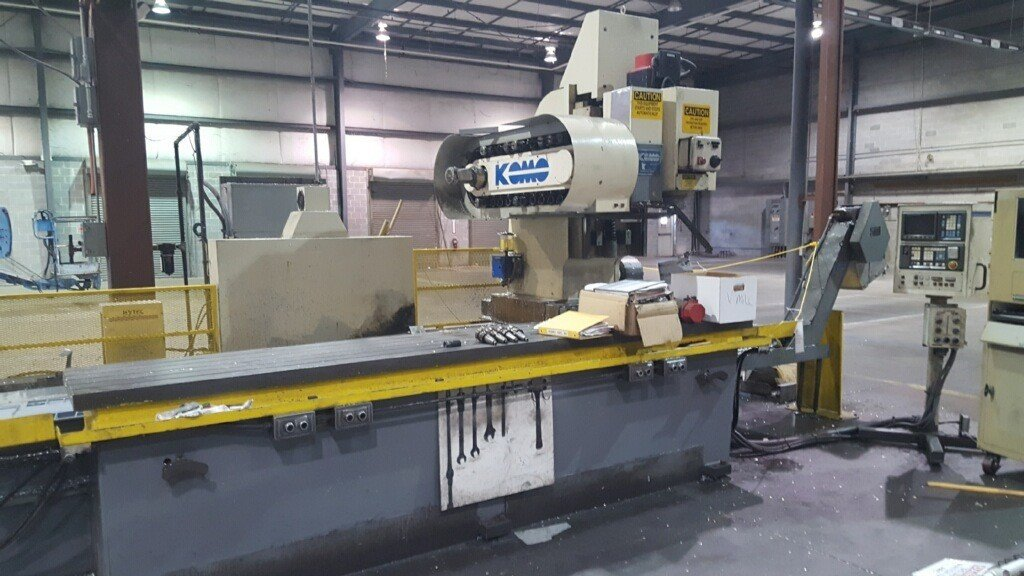 1 – USED KOMO VMC40/144 3-AXIS CNC VERTICAL MACHINING CENTER C-5294