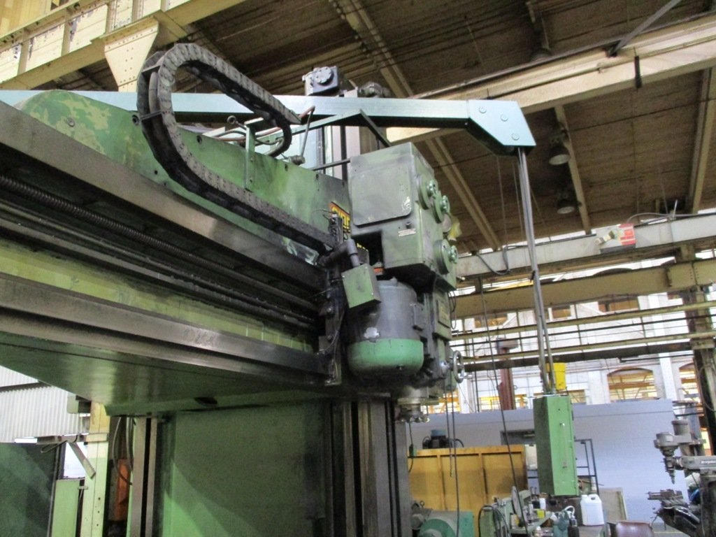 """1 – USED 120"""" X 96"""" X 36'  G&L OPEN SIDED PLANER MILL"""