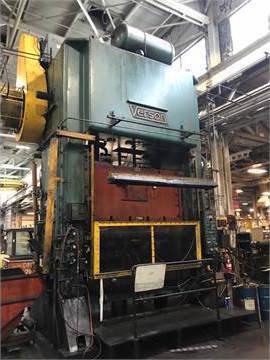 1 – USED 600 TON VERSON SSDC PRESS C-5415