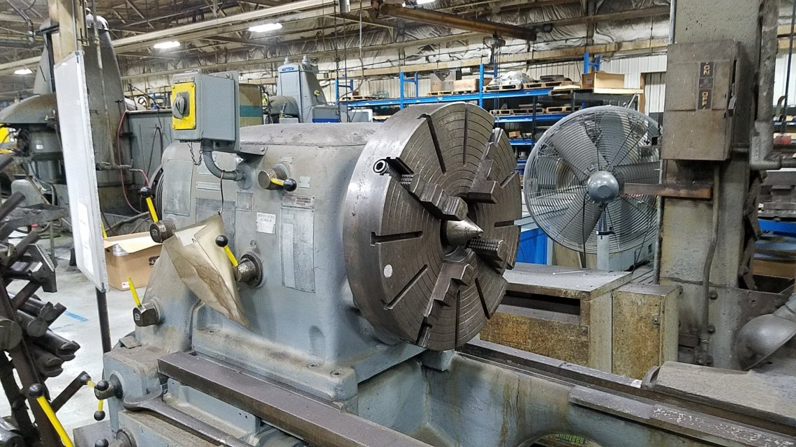 "1 – USED 36"" X 255"" TOS MODEL SU-90A ENGINE LATHE"