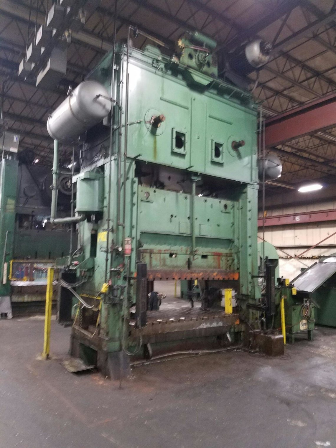 1 – USED 500 TON VERSON ECCENTRIC DRIVE PRESS