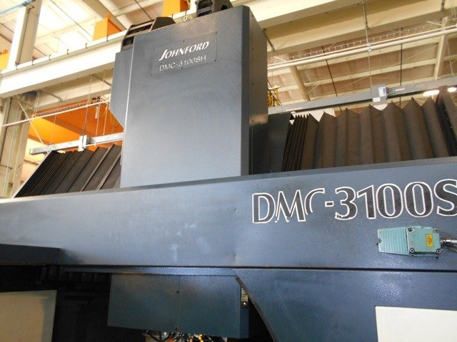 ​1 – USED JOHNFORD DMC 3100SH BRIDGE TYPE VERTICAL MACHINING CENTER