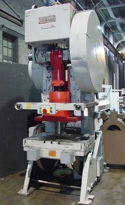 1 – USED 125 TON SOUTH BEND JOHNSON OPEN BACK INCLINABLE PRESS