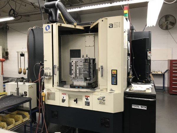 1 – USED MAKINO A-82 DUAL PALLET HORIZONTAL MACHINING CENTER C-5494