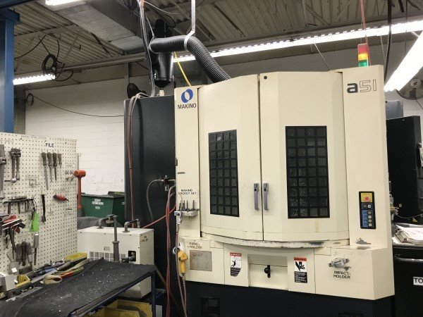1 – USED MAKINO A-82 DUAL PALLET HORIZONTAL MACHINING CENTER