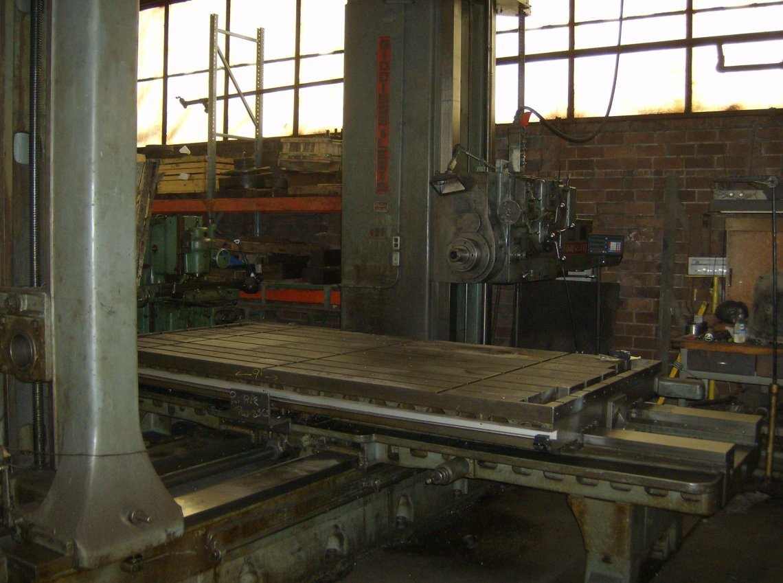 1 – USED 350T G&L HORIZONTAL BORING MILL