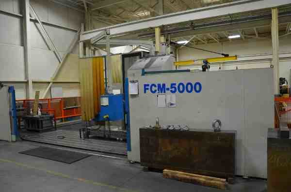 ​1 – USED CME FCM-5000 VERTICAL MACHINING CENTER C-5485