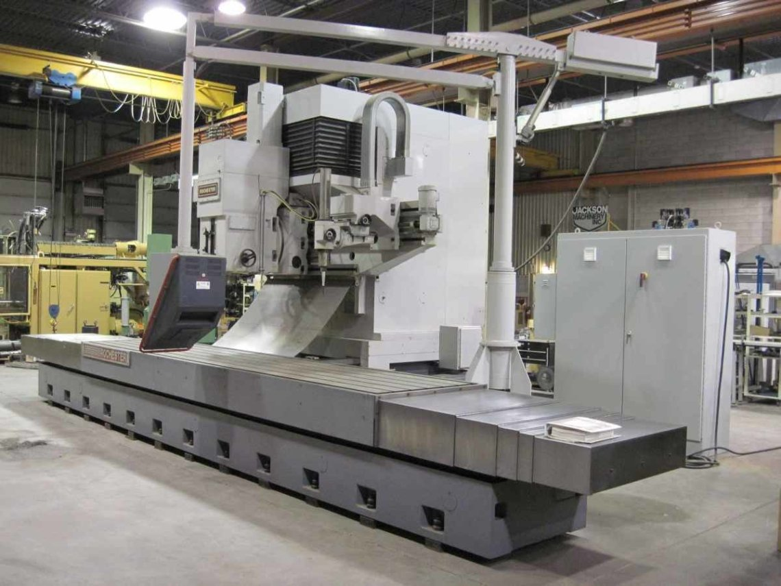 "​1 – NEW 96"" X 48"" ROCHESTER CNC VERTICAL MILL/DUPLICATOR/DIGITIZER WITH GETTY DC SERVOS AND COPY HEAD C-5472"