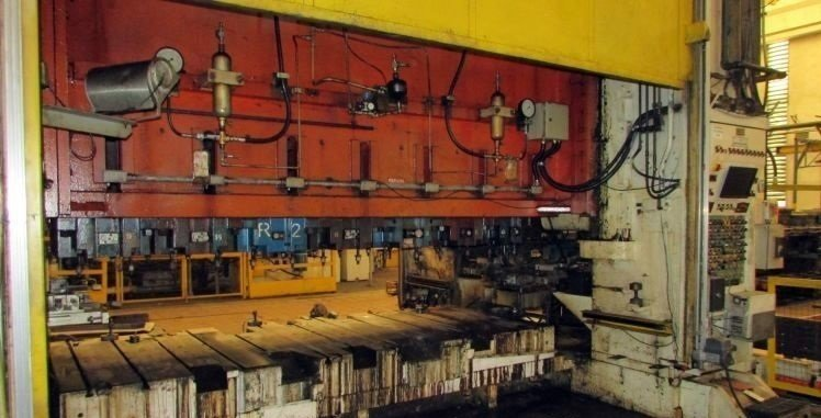 1 – USED 3,000 TON DANLY TRANSFER PRESS
