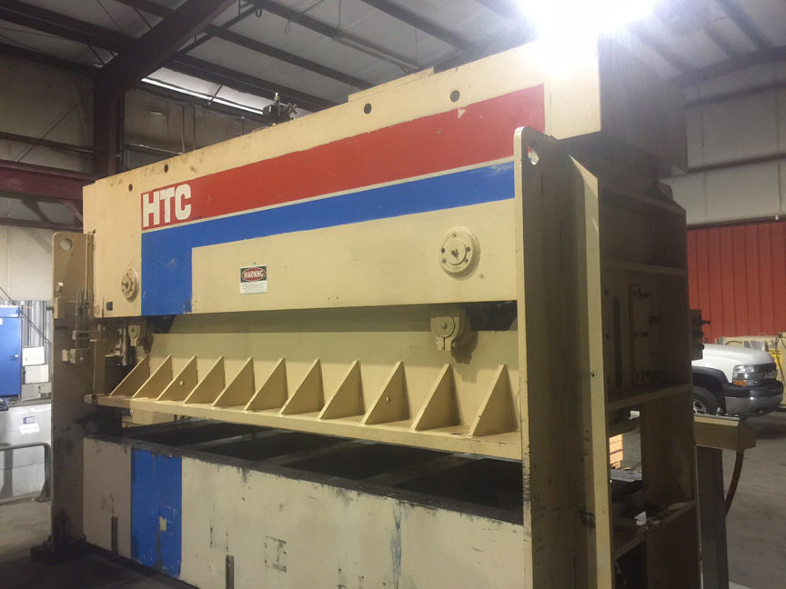 1 – USED 150 TON PACIFIC HTC HYDRAULIC PRESS BRAKE C-5523
