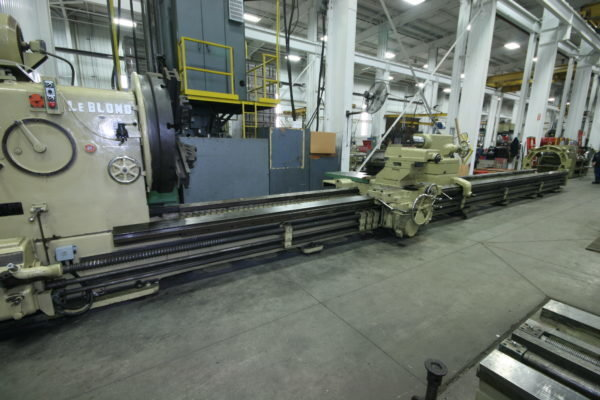 "1 – USED 63"" X 420"" LEBLOND HEAVY DUTY ENGINE LATHE"