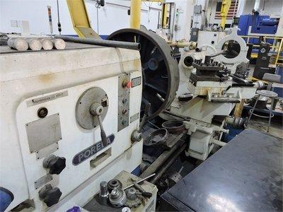 """1 – USED 60"""" X 200"""" POREBA GAP BED ENGINE LATHE"""