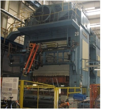 1 – USED WEINGARTEN *LINK DRIVE* 2,000 TON PRESS C-5575