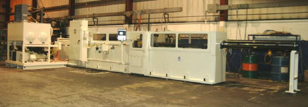 "​1 – USED 40 TON X 90"" AMERICAN CNC HYDRAULIC HORIZONTAL BROACH C-5346"