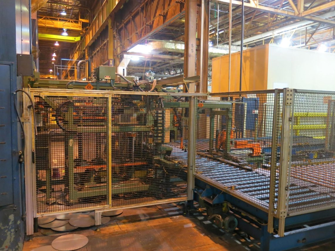 ​1 – USED 3,000 TON KOMATSU TRANSFER PRESS