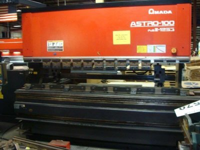 1 – USED 138 TON AMADA CNC UP-ACTING HYDRAULIC PRESS BRAKE