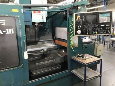 3 – USED RA-IVF MATSUURA DUAL-PALLET CNC VERTICAL MACHINING CENTER