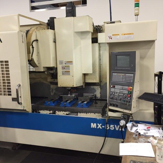 1 – USED OKUMA MX55-VA VERTICAL MACHINING CENTER C-5601