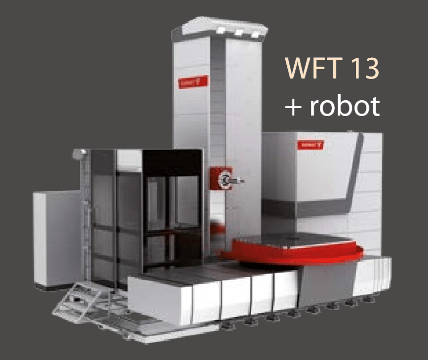1 – NEW WFT 13 TABLE TYPE HORIZONTAL BORING MACHINE