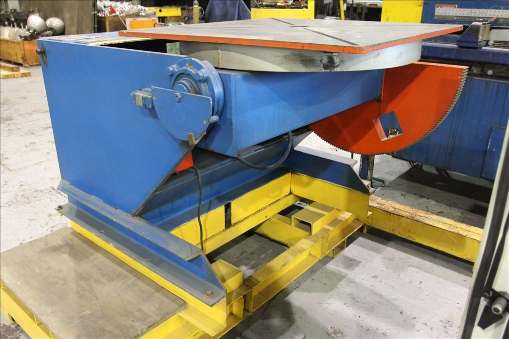 ​1 – USED KOIKE ARONSON MD3000 6,600 LBS. POWERED TILT WELDING POSITIONER C-5643