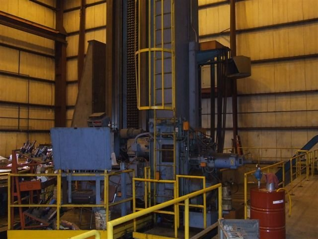"​1 - USED 7"" INGERSOLL RAM/FLOOR TYPE CNC HORIZONTAL BORING MILL"