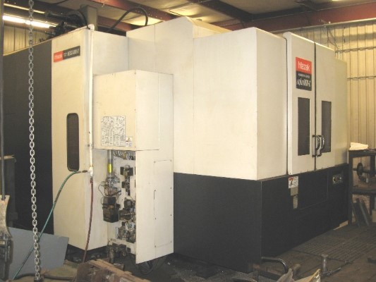 ​1 – USED MAZAK HORIZONTAL MACHINING CENTER C-5687