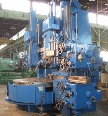 """1 – USED 63"""" TOS DOUBLE HOUSING VERTICAL BORING MILL"""