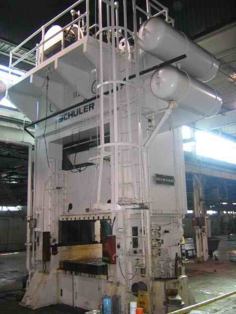 1 – USED 400 TON SCHULER STRAIGHT SIDE DOUBLE CRANK PUNCH PRESS