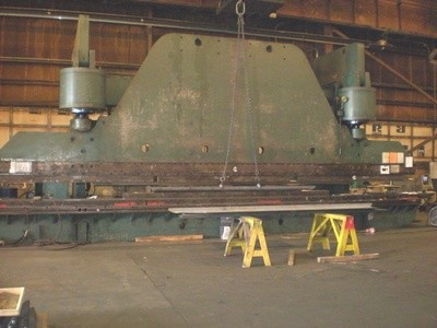 1 - USED 1,500 TON CINCINNATI HYDRAULIC PRESS BRAKE, MODEL 1500H