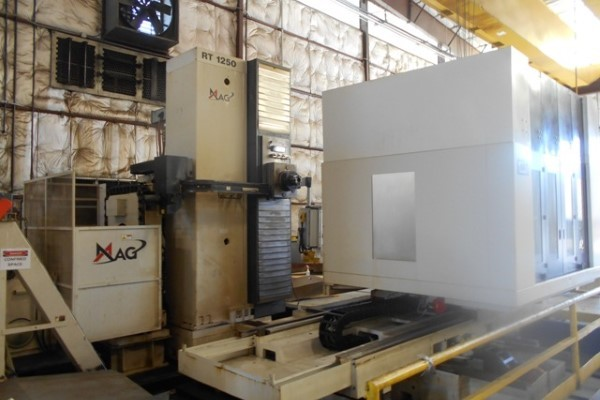 1 – USED GIDDINGS AND LEWIS MAG RT 1250 CNC ROTARY TABLE HORIZONTAL BORING MILL C-5703