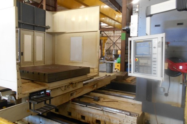 1 – USED GIDDINGS AND LEWIS MAG RT 1250 CNC ROTARY TABLE HORIZONTAL BORING MILL