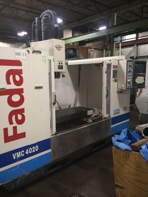 """1 – USED FADAL VMC 4020HT WITH EXTENDED """"Z"""" C-5707"""