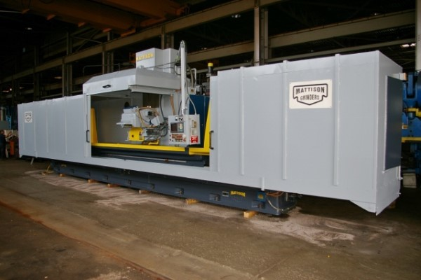 "​1 – USED 30"" X 36"" X 144"" MATTISON PRECISION HEAVY DUTY CNC HYDRAULIC SURFACE GRINDER C-5711"