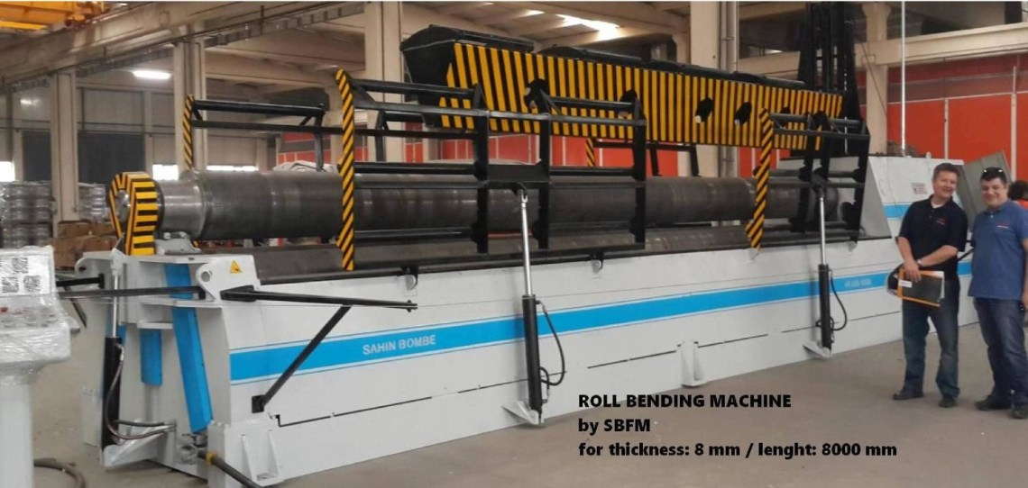 ​1 – NEW 3RH SBS 3090 HYDRAULIC BENDING ROLL