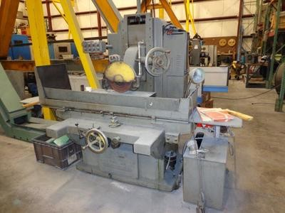 "1 - USED 16"" x 36"" GALLMEYER & LIVINGSTON HYDRAULIC FEED HORIZONTAL SPINDLE SURFACE GRINDER"
