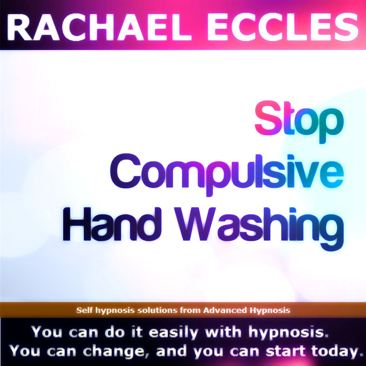 Stop compulsive hand washing, self hypnosis, hypnotherapy MP3 00265b