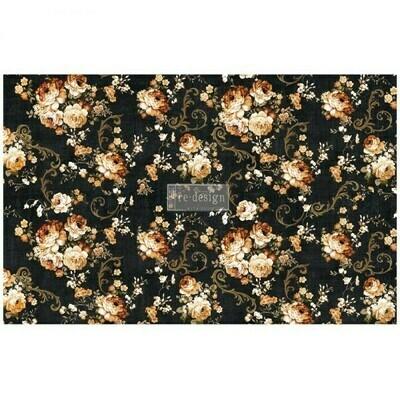 Decoupage Decor Tissue Paper: Dark Floral