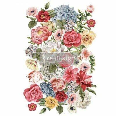 NEW! Prima Decor Transfer: Wondrous Floral II