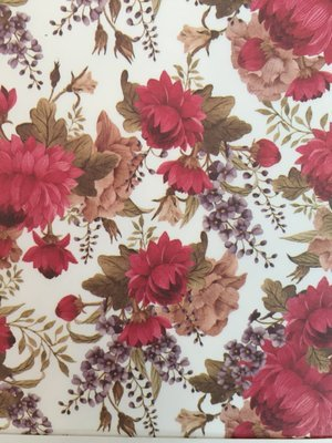 Decoupage Paper: Red Peony