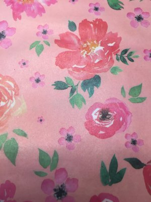 Decoupage Paper: Peach Bloom