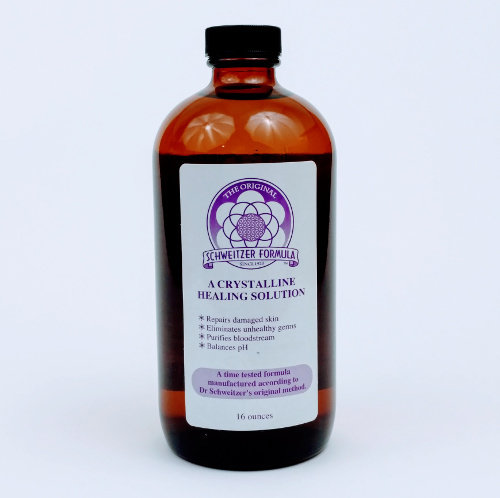 Schweitzer Formula Glass Bottle 16oz SF16G