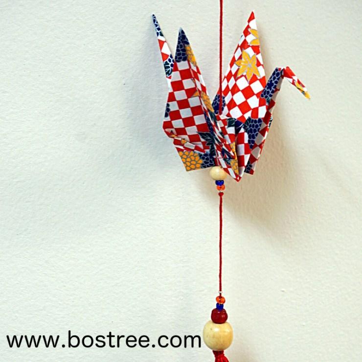 Origami crane detail #2