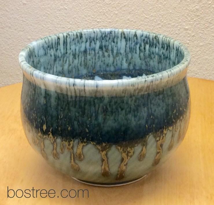 handmade porcelain celadon bowl