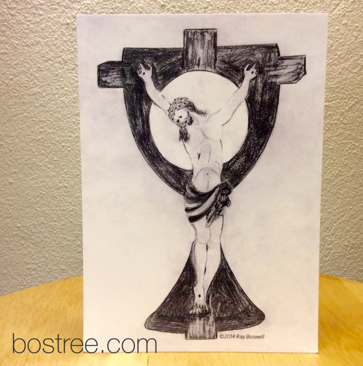 Jesus Icon Postcard by Ray Boswell - 8/pack RB00058