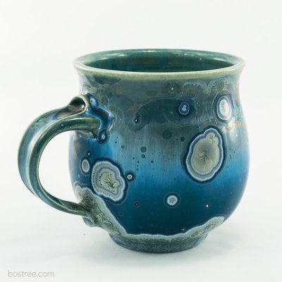 Crystalline Glaze Mug by Andy Boswell #AB00S14