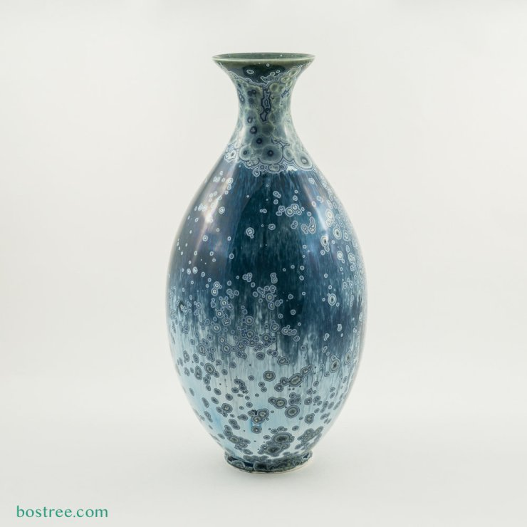 Crystalline Glaze Vase by Andy Boswell #ABV0032 ABV0032