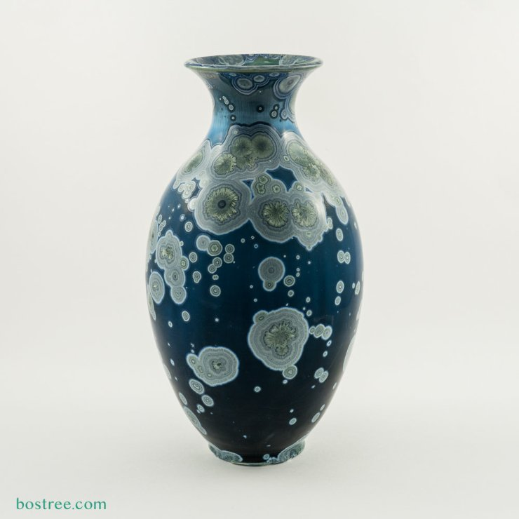 Crystalline Glaze Vase by Andy Boswell #ABV0116 ABV0116
