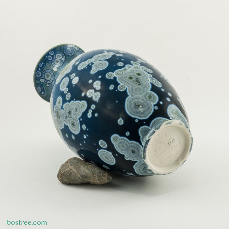 Crystalline Glaze Vase by Andy Boswell #ABV0116